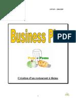 Business Plan Concept Restauration Theme