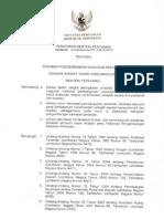 Peraturan Menteri Pertanian  Nomor 50 Tahun 2012 Tentang Pedoman Pengembangan Kawasan Pertanian