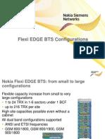 Flexi EDGE BTS Configurations
