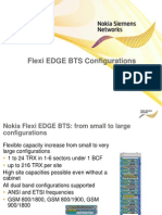 Flexi EDGE BTS Configurations