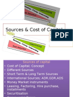 Sources & Cost of Capital