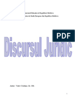 Discursul-Juridic/judiciar