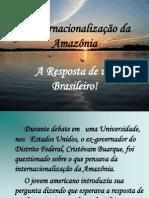 A Internacionalização da Amazônia