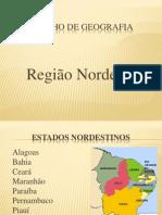 Trabalho de Geografia Nordeste