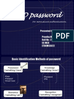 3 Dimension Password