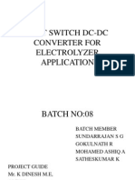 Soft Switch Dc-dc Converter for Electrolyzer Application