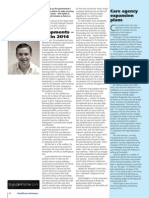 Senior Consultant David Madden  featured in February's Healthcare Business
