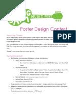 Spring Jam Music Fest 2014 - Poster Design Contest