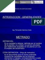 Introd Generalid Metrados