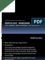 K3 MORFOLOGI BANGUNAN