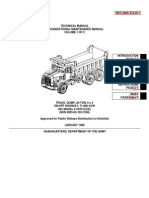 TM 5-3805-254-20-1 IHC F-5070 DUMP TRUCK