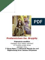 POLISH BOOK the Prayers Jesus Gave to Saint Bridget of Sweden
