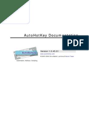 Auto Hot Key | Keyboard Shortcut | Subroutine