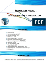 Tema 1 Introduccion a Microsoft NET
