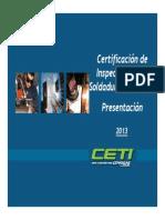 certificación inspector en soldadura (cwi)-2013