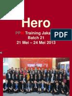 Hero Batch 21 Jkt