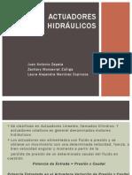Actuadores Hidráulicos - Zapata