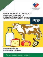 Guía para el control y prevención de la contaminación industrial en fabricación de productos lácteos