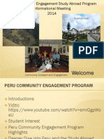 Shortened Peru Informational Meeting Presentation 2 2014 Pt 1