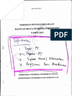 Cuplikan Pedoman Bidikmisi 2013 Yg Penting