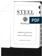 AISC Steel Manual - Snug Tight Bolts