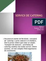 Servicii de Catering
