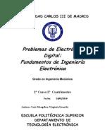 Coleccion de problemas resueltos de electronica digital b†sica