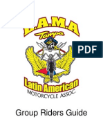 lama riding rules