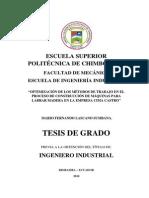 tesis industrial, mejora de metodos en el trabajo de fabrica de maquinaria para madera.pdf