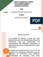 Prueba de Presion-produccion Erika Diaz Alvarado