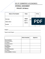 Page-2 Internal Assessment