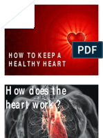 How to Keep a Healthy Heart