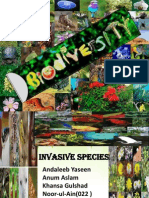 invasive species in Pakistan