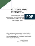 EL MÉTODO DE INGENIERIA