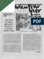 """Studentsko ljeto 1991. Specijalni prilog lista """"Natron"""""""