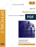 CIMA Study Systems 2006 Business Law