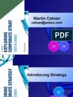 Strategic Analysis Fall 2009