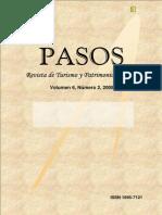PASOS14 2008 Gastronomia y Vinos