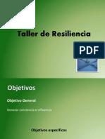 Taller de Resiliencia