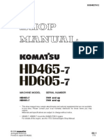 HD465 7 Shop Manual SN 7001 Up