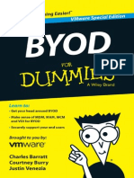 Byod for Dummies (Bring Your Own Device 4office Fr Vmware)