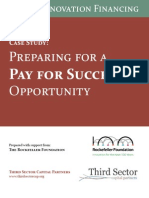 Third Sector Roca Preparing for Pay for Success in MA