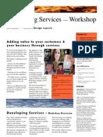 Developing Services — Workshop