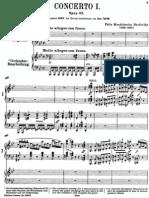 Mendelssohn - Piano Concerto No 1 in G Minor