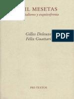 Deleuze y Guattari, Mil Mesetas, introducción