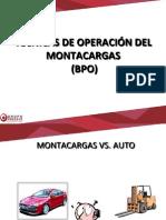 TÉCNICAS DE OPERACIÓN DEL MONTACARGAS.pptx