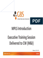 GBS MPLS Introduction