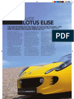 Tuning Guide to the Lotus Elise