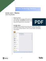 Excel 07 Basics