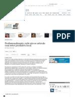 Profissionalizante, rede não se articula com setor produtivo local - vida - versaoimpressa - Estadão